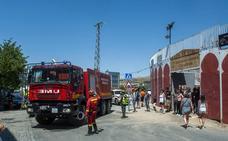 Clamor tras el incendio de Guadarrama en La Granja y Valsaín: «Es trágico porque nos están abrasando lo nuestro»