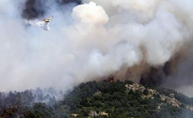 El incendio de Guadarrama en datos