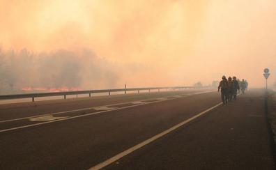 La memoria del fuego: Justo once años después, el desastre natural de Honrubia prende en La Granja