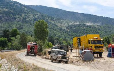 La Junta declara controlado el incendio de La Granja y baja el nivel de peligrosidad a cero