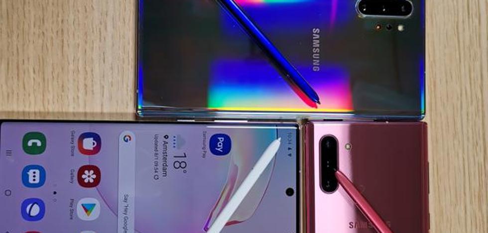 Así es el Note 10+, el nuevo buque insignia de Samsung