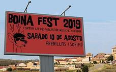 La localidad soriana de Arenillas se prepara para multiplicar por diez su población el sábado en el Boina Fest