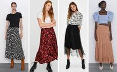 Las faldas midi que serán tendencia esta nueva temporada