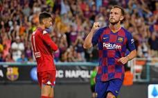 El Barcelona se impone con esfuerzo al Nápoles
