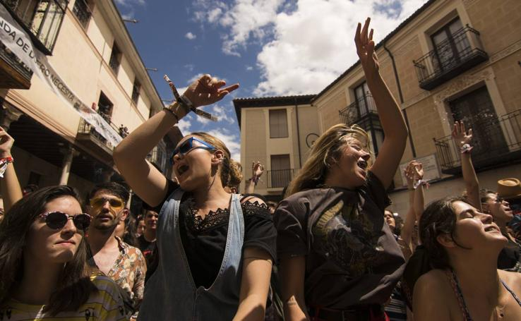 Jornada del jueves en el festival Sonorama Ribera 2019