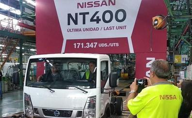 Nissan fabrica su último camión tras sesenta años produciendo vehículos