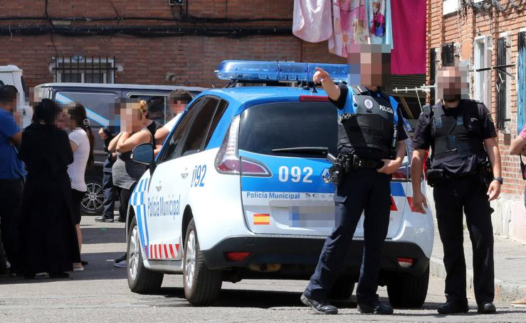 Dos detenidos tras un tiroteo en el barrio vallisoletano de Las Viudas