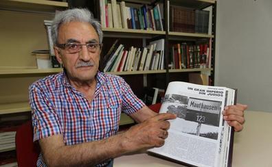 El sobrino de un superviviente de Mauthausen: «Tras pasar por allí mi tío perdió la fe, no solo en Dios, sino en el ser humano»