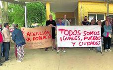 Vecinos de Barcial de la Loma se manifiestan por los recortes sanitarios