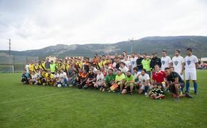El partido benéfico del Real Sitio recauda más de 5.000 euros para la recuperación de la sierra