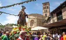 Día grande en las fiestas de San Lorenzo