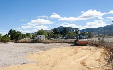 El Palacio de La Faisanera empieza las obras del aparcamiento