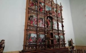 Inaugurado el retablo parroquial de Serradilla del Arroyo tras una inversión de 80.000 euros