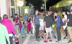 Adif reforzará la seguridad en la estación de tren de Viana para evitar accidentes