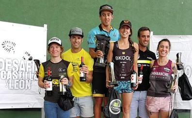 Ana Caleya y Carlos Aznar, campeones en Medina de Rioseco