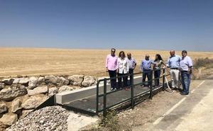La Diputación de Palencia invierte 57.000 euros en mejoras de la PP-9531, en Paredes de Nava, afectada por el corredor de alta velocidad