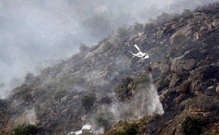 El fuego arrasa más de 170 hectáreas en Salamanca