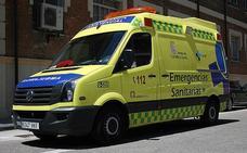 Dos jóvenes heridos en un accidente de moto en la localidad leonesa de Labaniego