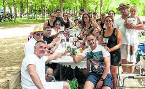 San Lorenzo entona el 'Pobre de mí' para despedirse de unos días cargados de diversión