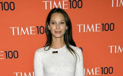 Christy Turlington se viste para Jacobs