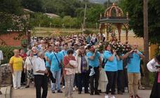 Procesión de la Virgen de Areños en Velilla