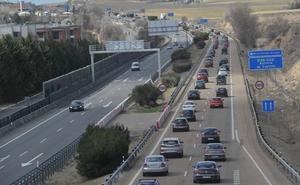 La idea de cobrar en autovías supondría un peaje de 54 céntimos de Tordesillas a Valladolid