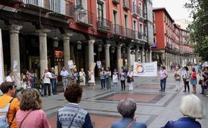 Apoyo en Valladolid a la labor humanitaria de los barcos Ocean Viking y Open Arms
