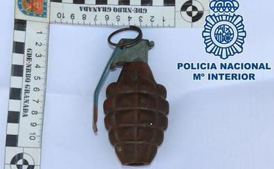 Falsa alarma en Correos al detectar una granada inerte de la Segunda Guerra Mundial