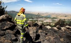 Esta es la huella de destrucción dejada por el incendio de La Granja del 4 de agosto (2)