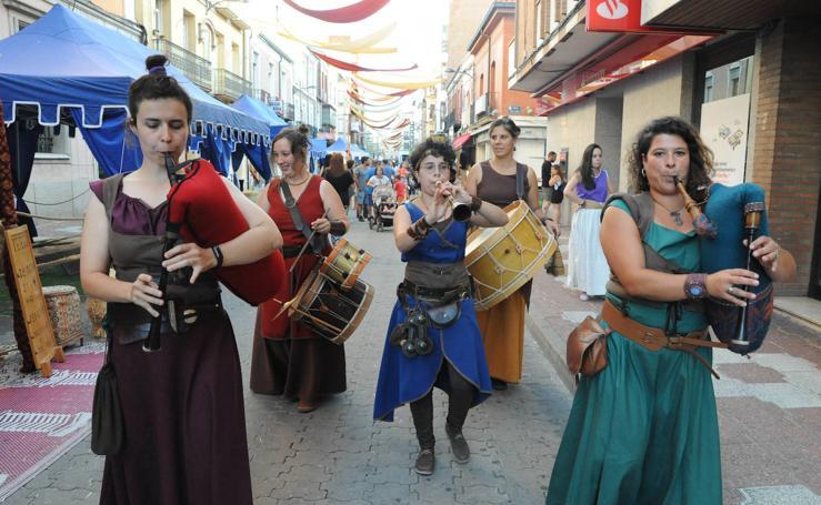 Jornada inaugural de la Feria Renacentista de Medina del Campo