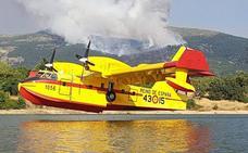 España manda un hidroavión desde Matacán para ayudar en los incendios de Grecia