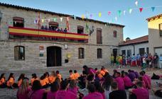 Inicio de las fiestas de Wamba dedicadas a la Virgen y San Roque