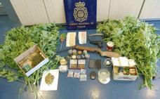 Dos detenidos por tráfico de sustancias estupefacientes y defraudación en el fluido eléctrico en Astorga