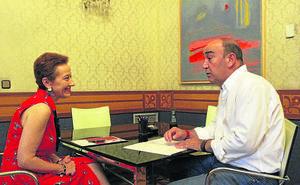 De Vicente y La Esteva suscriben el acuerdo de colaboración institucional