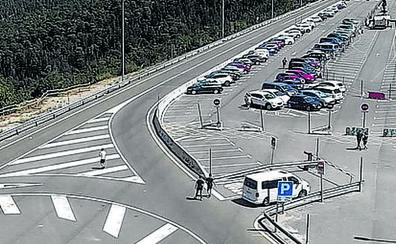 Cerrado medio 'parking' de Navacerrada por obras