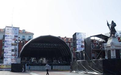 Los conciertos de las fiestas de Valladolid costarán 707.890 euros y tendrán nuevas pantallas gigantes
