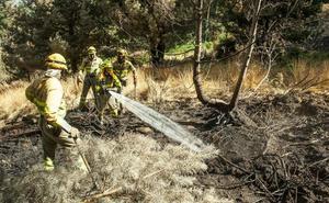 El Gobierno destina 200.000 euros para los trabajos de restauración de las zonas más afectadas por el incendio de La Granja
