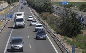 Las carreteras de la comunidad registrarán más de un millón de desplazamientos este puente