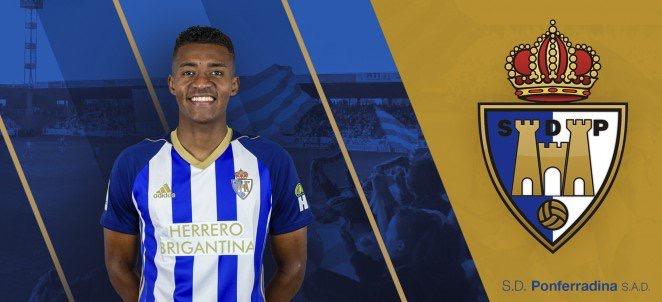 El CD Guijuelo logra la cesión del internacional colombiano Bolaños procedente de la Ponferradina