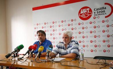 UGT denuncia intentos de 'boicot' el segundo día de la huelga de ambulancias en Salamanca