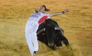 El cortador Jonatan Estébanez 'Peta' gana el concurso de cortes de Rueda