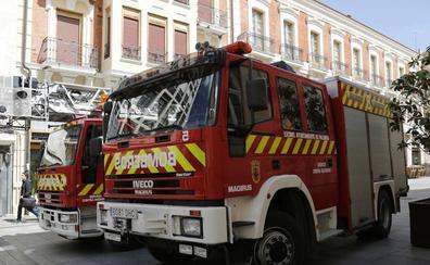 Un incendio quema diez hectáreas agrícolas en Miranda de Ebro (Burgos)