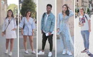 Los mejores looks con zapatillas por las calles de Valladolid