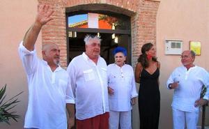 Lucía Bosé expone junto a otros creadores en su refugio segoviano de Brieva