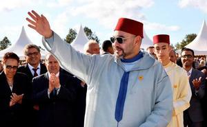 Mohamed VI, sin cumpleaños