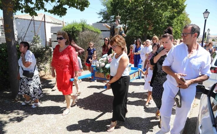 Terradillos rinde honores a la Virgen de la Asunción