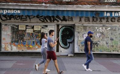 La mitad de los nuevos negocios en Valladolid apenas superan el primer año de actividad