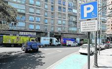 Valladolid suma 28 nuevas plazas de aparcamiento para movilidad reducida