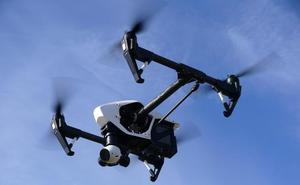 Primera infracción tramitada en Ávila a un piloto de dron