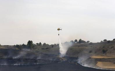 Investigan a un hombre de 53 años como presunto autor del incendio del Monte el Viejo de Palencia